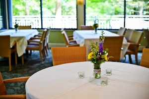 Table decorations at the Robins Tea House. Sweet Memories Photography by Naomi Phelps.