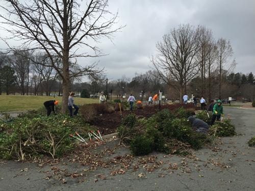A Day Of Service Lewis Ginter Botanical Garden