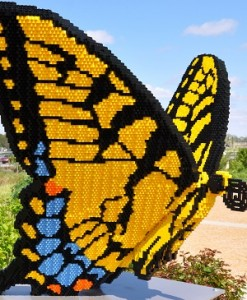 Walk and Talk: Nature Connects: Art with LEGO Bricks