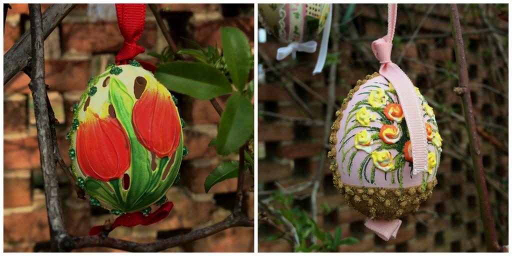 Austrian Easter gift Eggs