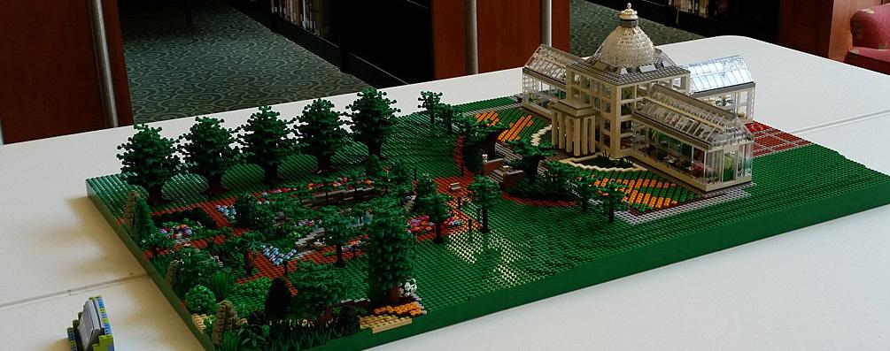 image of LEGO brick conservatory
