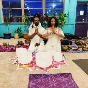 Shanna Praneshwari Latia and Julian Payne