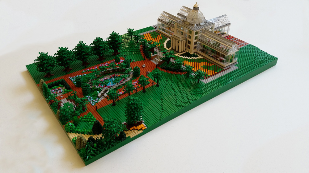 The Conservatory in LEGOs by the RVA Lego Users Group.