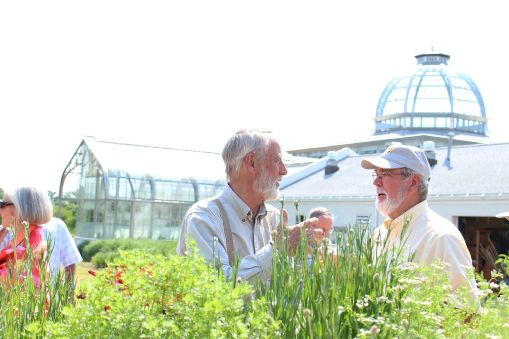 bee keeper and bee expert Bob Stapleton