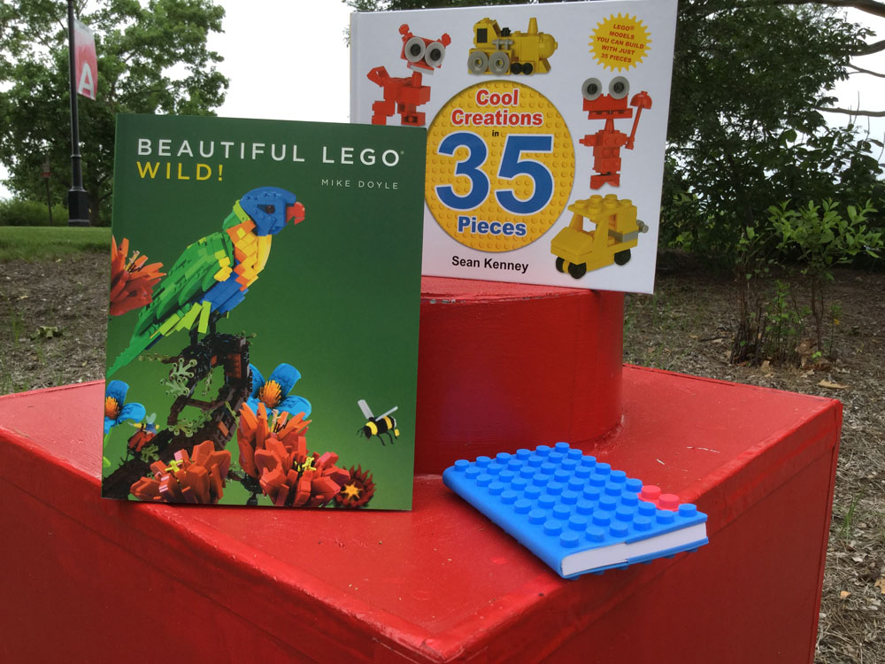 LEGO® books make fun LEGO® gifts