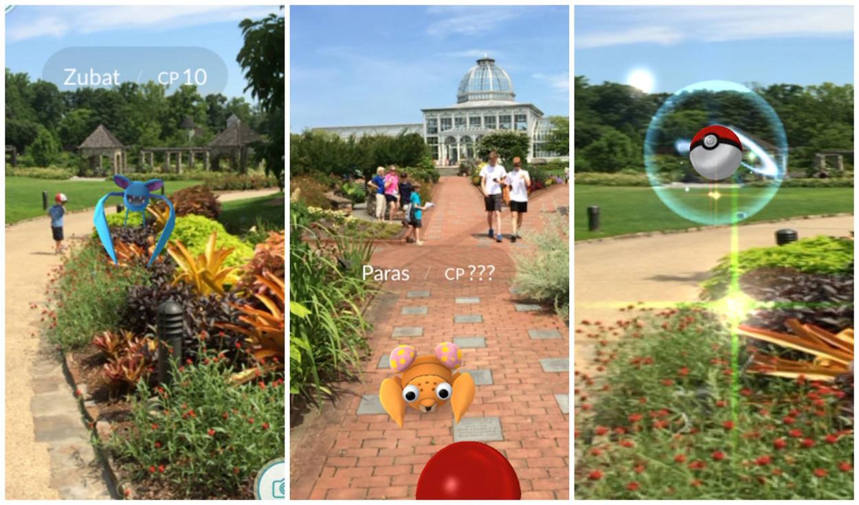 Pokemon Go Catch 39 Em All At Ginter Lewis Ginter Botanical Garden