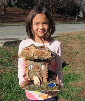 Making Fairy Houses Beginner Adult/Child Workshop