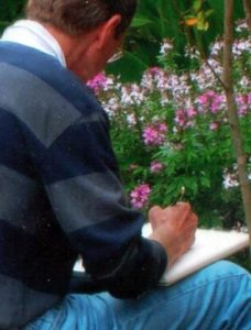 How to Draw in the Garden