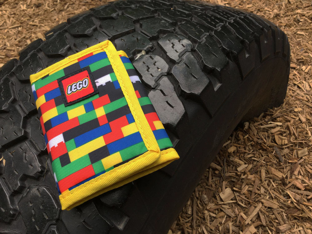 A LEGO® wallet makes a fun LEGO® gift