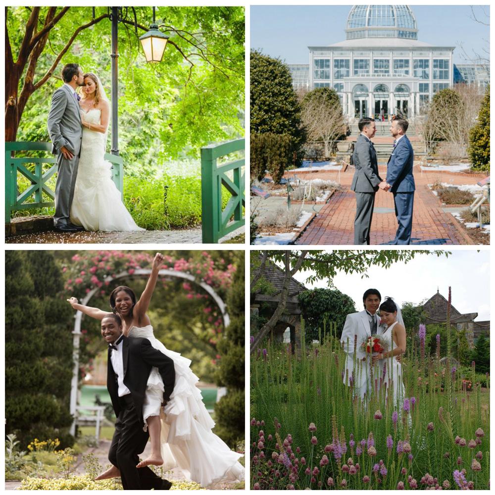 Garden Wedding Collage