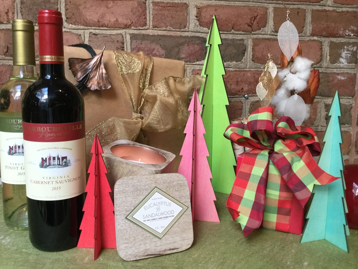 Wine, canals and other fun holiday items on display at Cheers to Shopping.
