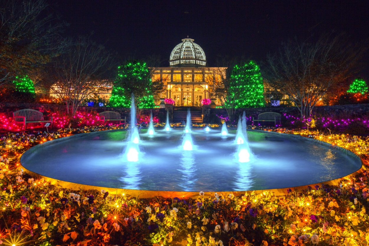 Dominion Gardenfest Of Lights At Lewis Ginter Botanical Garden