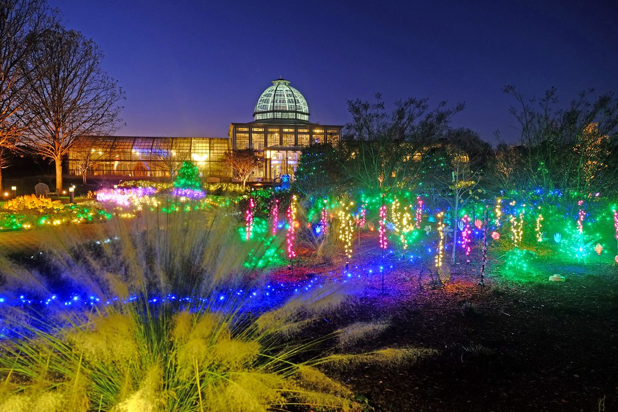 dominion gardenfest of lights at lewis ginter botanical garden - Lewis Ginter Botanical Garden