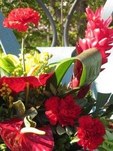 Tropical Floral Arranging