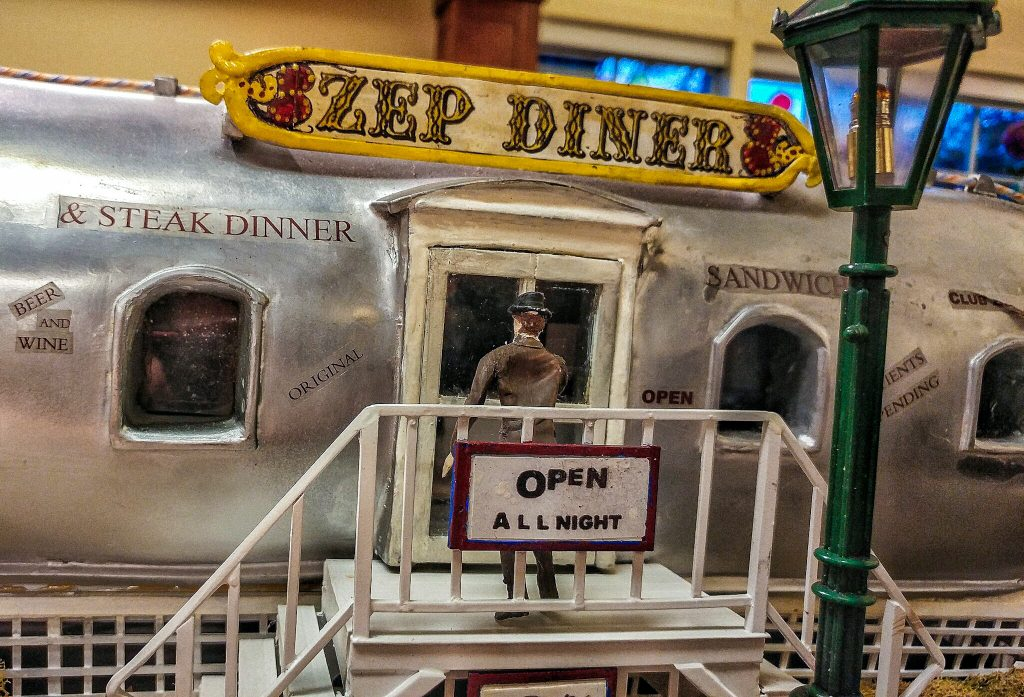 Zep Diner miniature in library. Image by Luke Witt