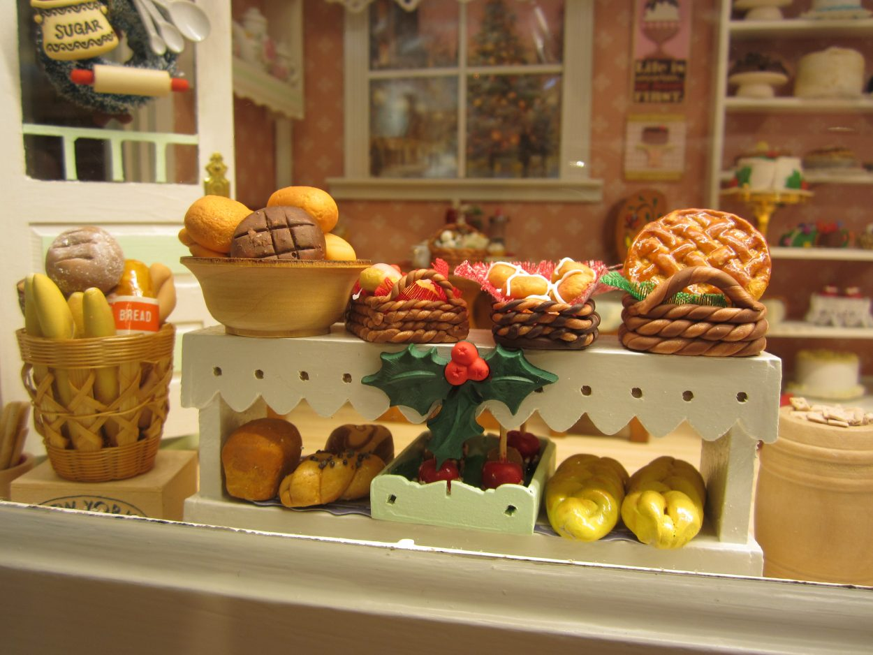 Bake Shop close-up - Betty and Paul Schiess