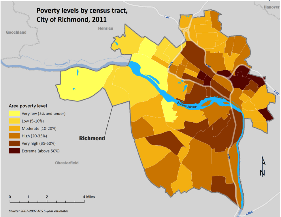 Map of impediments to fair housing
