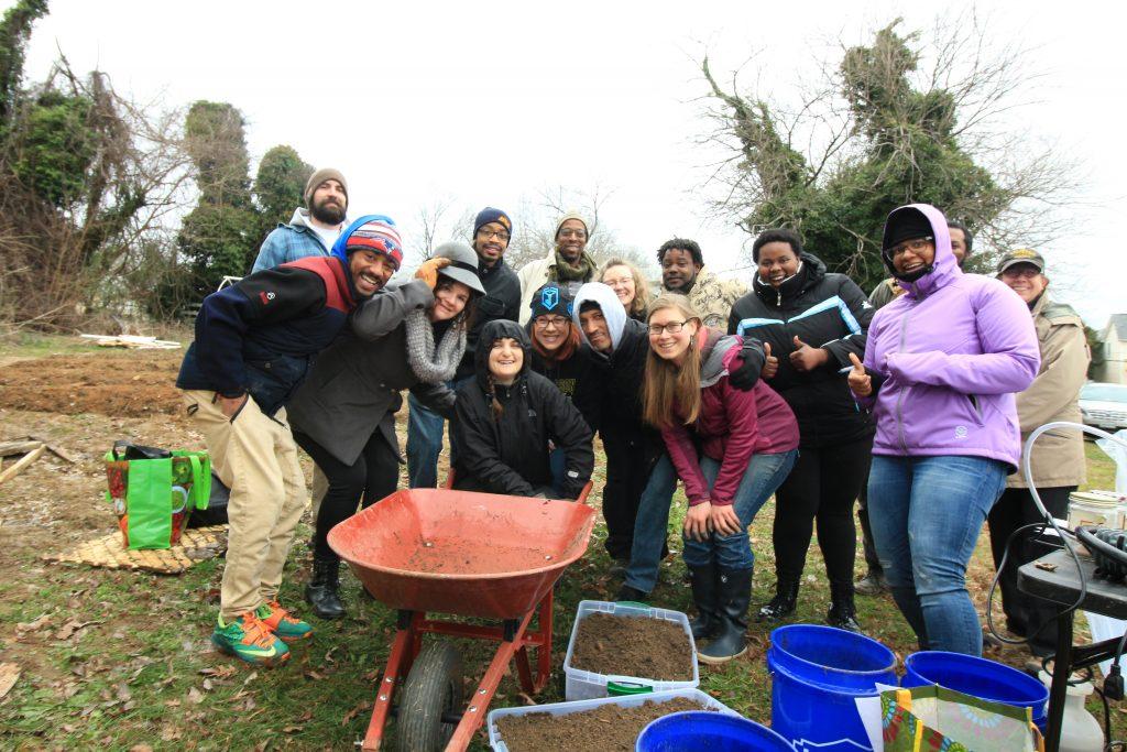 Ginter urban gardeners group photo