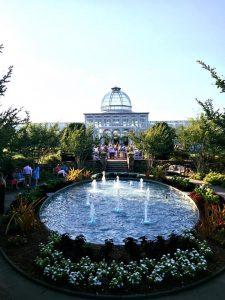 A Garden Soiree party at Lewis Ginter Botanical Garden