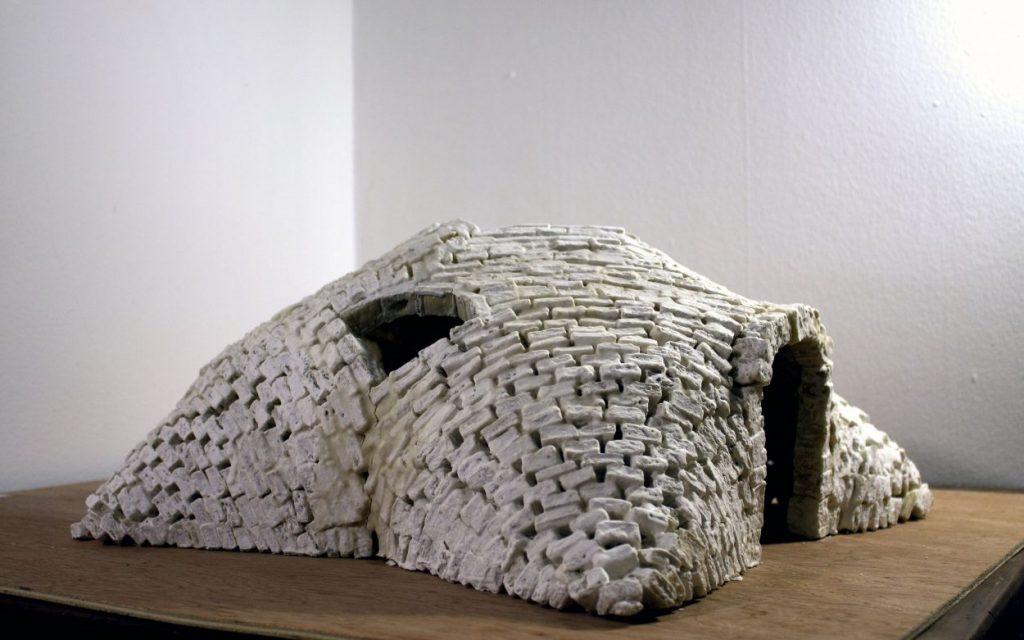 Gonbad sculpture prototype by artist Leila Ehtesham