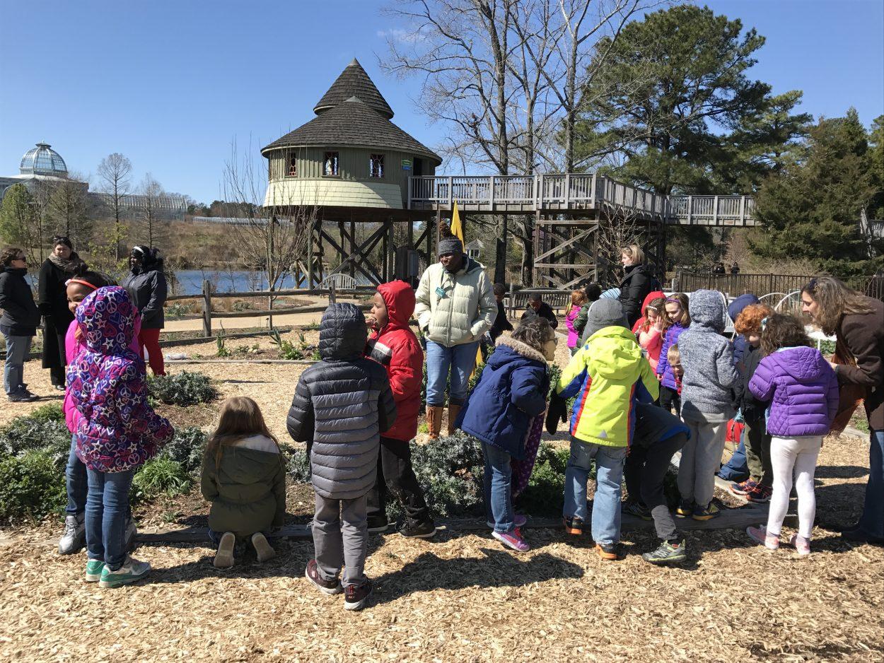 Meet Children 39 S Garden Educator Tarneshia Evans Lewis Ginter Botanical Garden