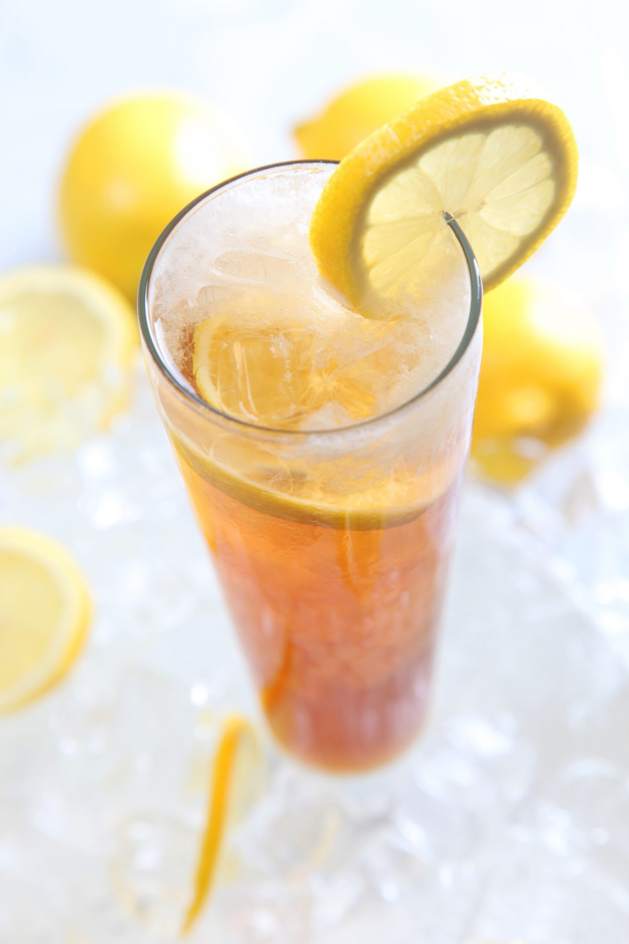 A beer cocktail or shandy