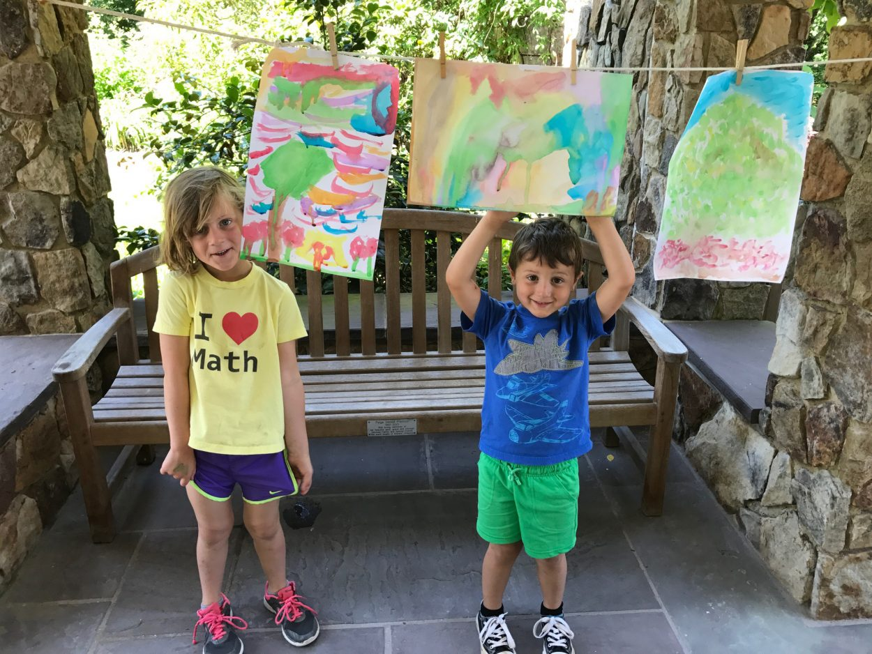 First Fridays Plein Air Painting
