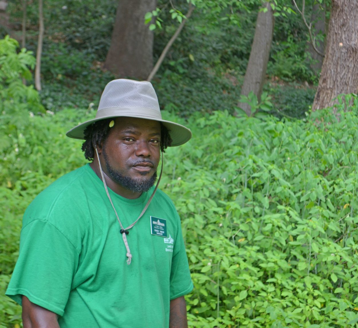Randy Minor, Gardener, gardening.