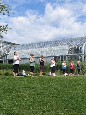 Thursday Yoga in the Garden