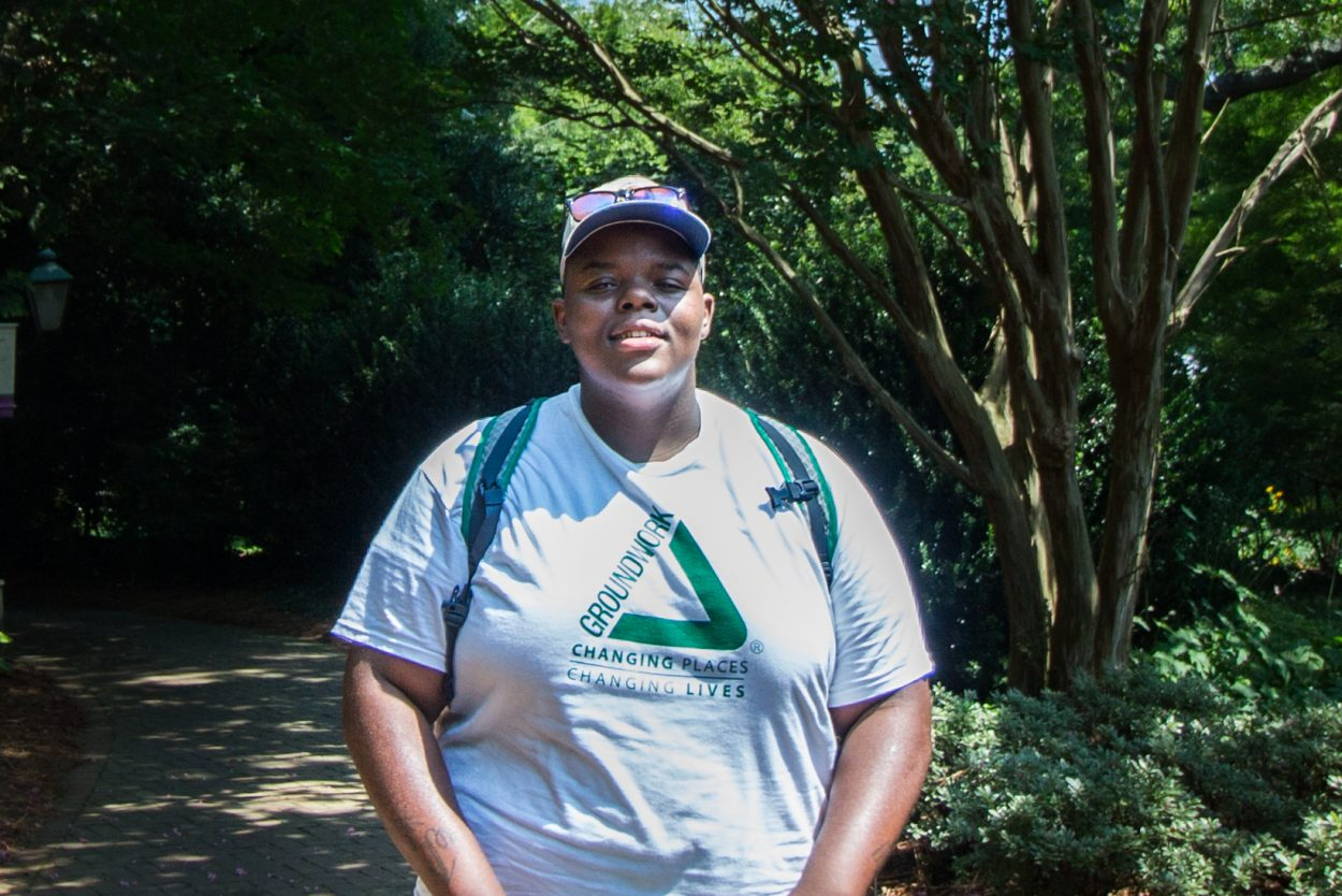 Darquan is a senior at Huguenot High School and has been with Groundwork RVA for about 4 months. He participates in the Sustainable Landscape Management Program because he would like to do more for his community.