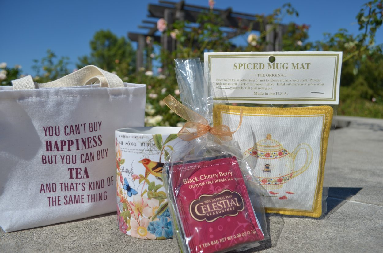 Coffee and Tea Mugs and Tea Totes Available at Cheers to Shopping