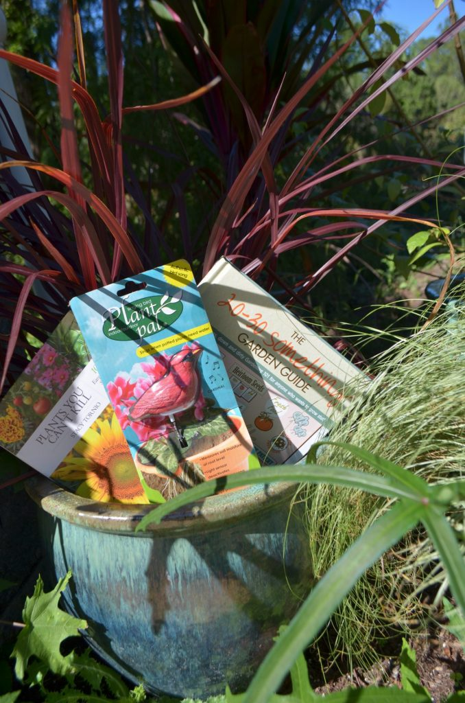 Gardening holiday gifts for a new gardener! You can find these and more at the Garden Shop and Cheers to Shopping.