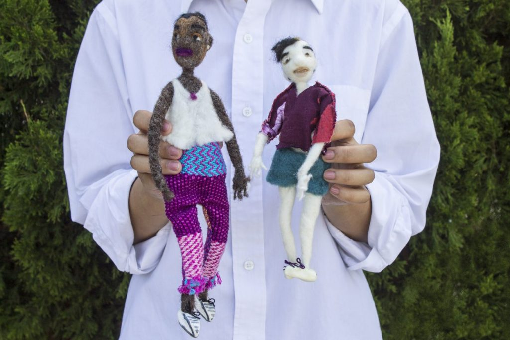 artisans felted people dolls