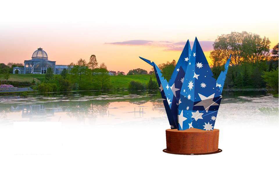 Origami in the Garden contest