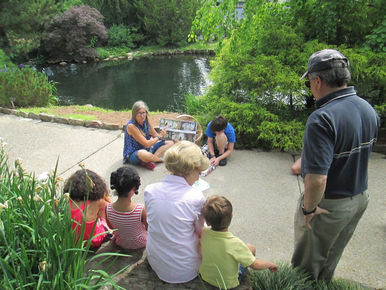 Garden Walk Garden Talk: Family Walk And Talks At Lewis Ginter Botanical Garden