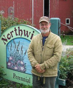 Roy Diblik at Northwind Perennial Garden