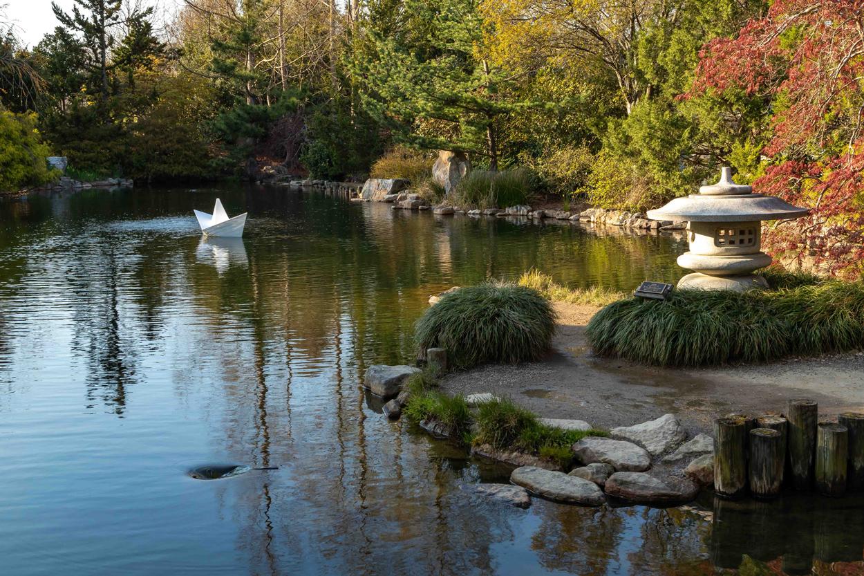 Origami in the Garden - Lewis Ginter Botanical Garden - photo#25