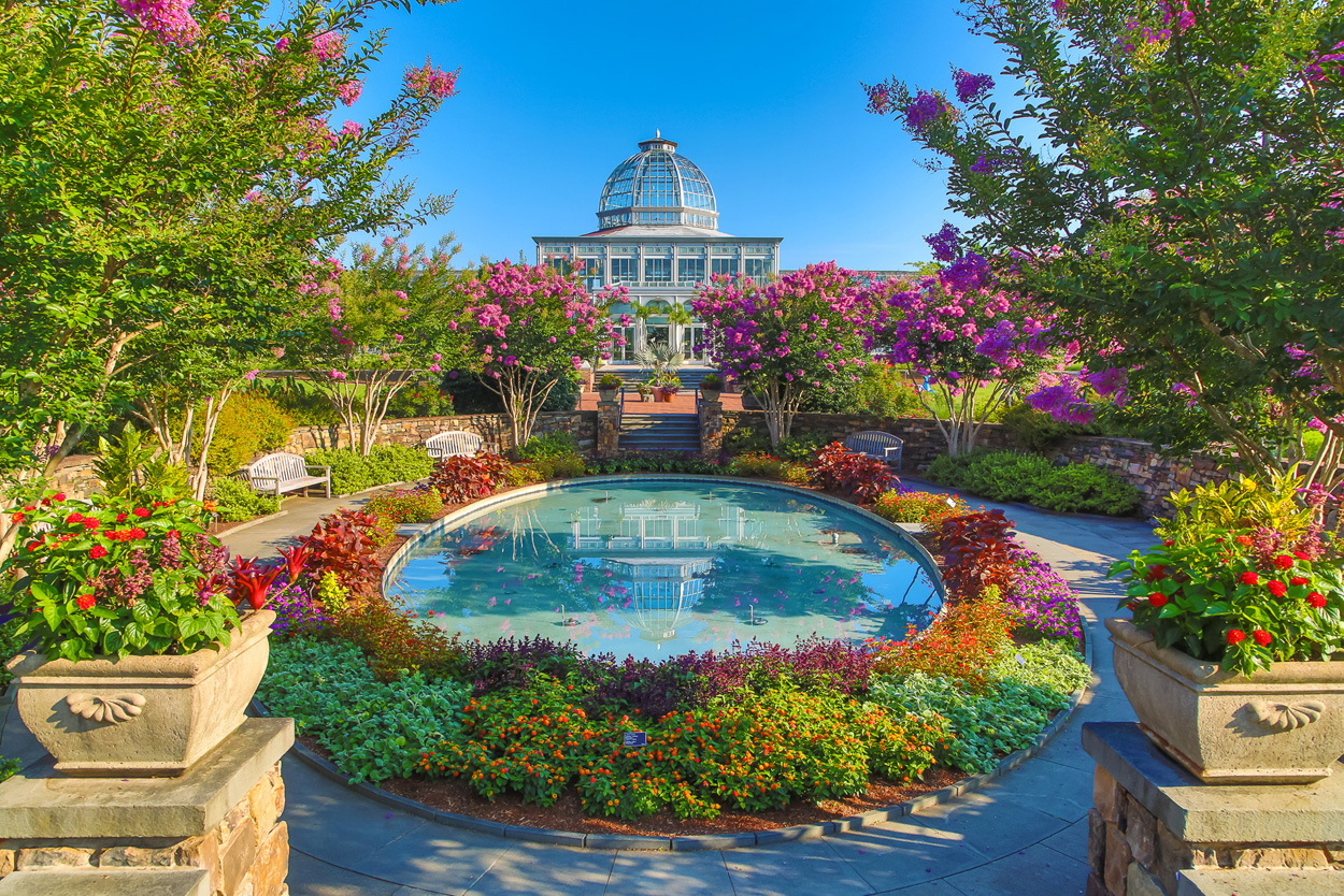 One of the top gardens in the us lewis ginter botanical garden Lewis ginter botanical gardens