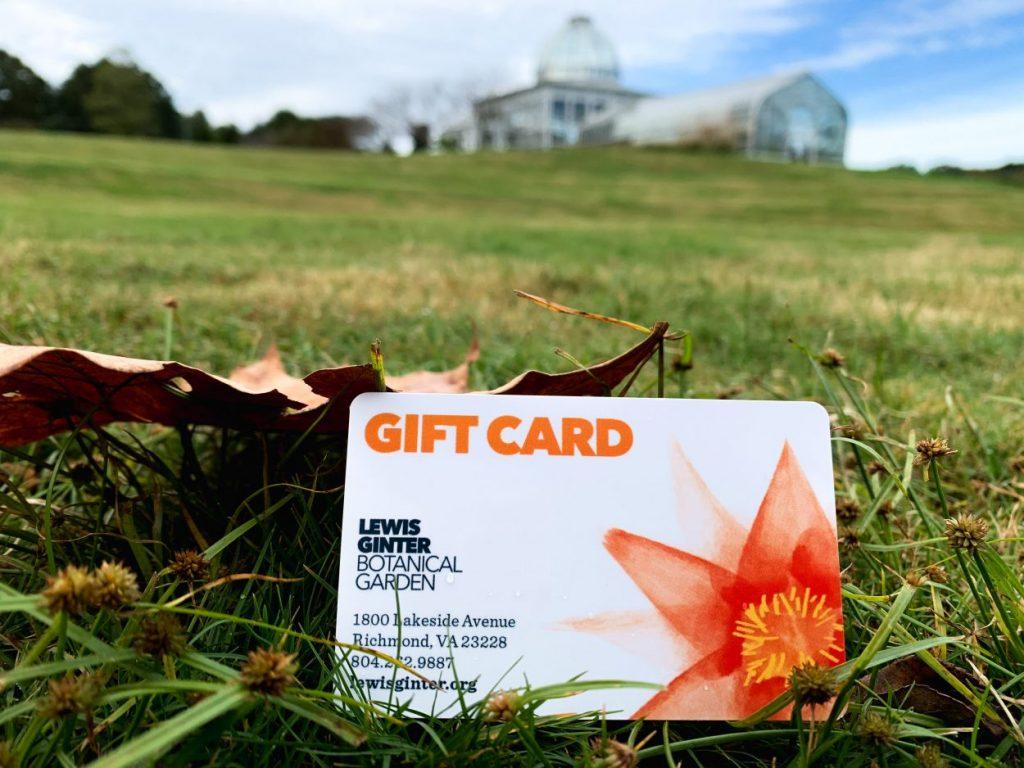 Lewis Ginter Botanical Garden gift card