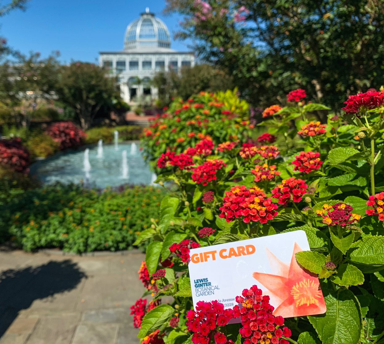 Gift card for Lewis Ginter Botanical Garden