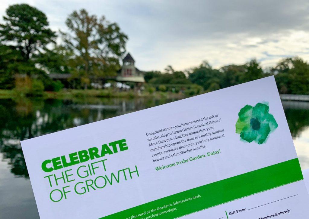 Lewis Ginter Botanical Garden Gift Membership