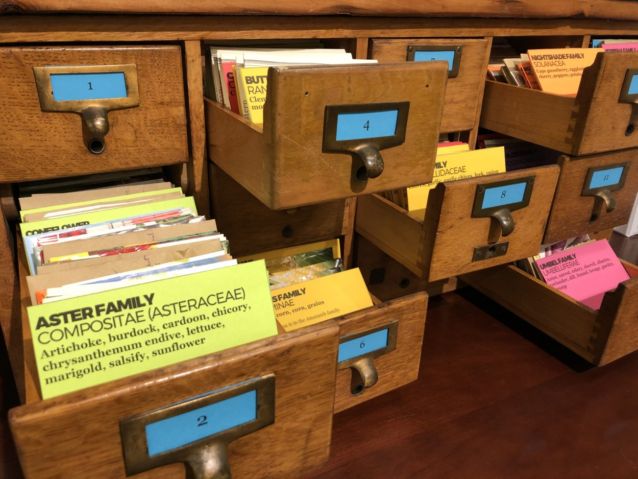Seed library catalog