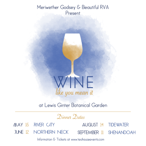 Wine like you mean it dates for the River City, Northern Nec,
