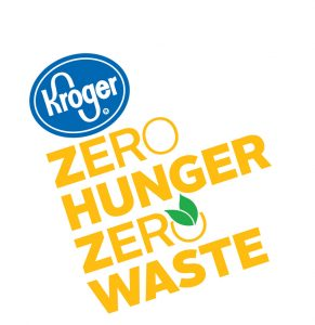 kroger logo for zero hunger, zero waste