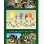 DVD cover for A Community of Gardeners