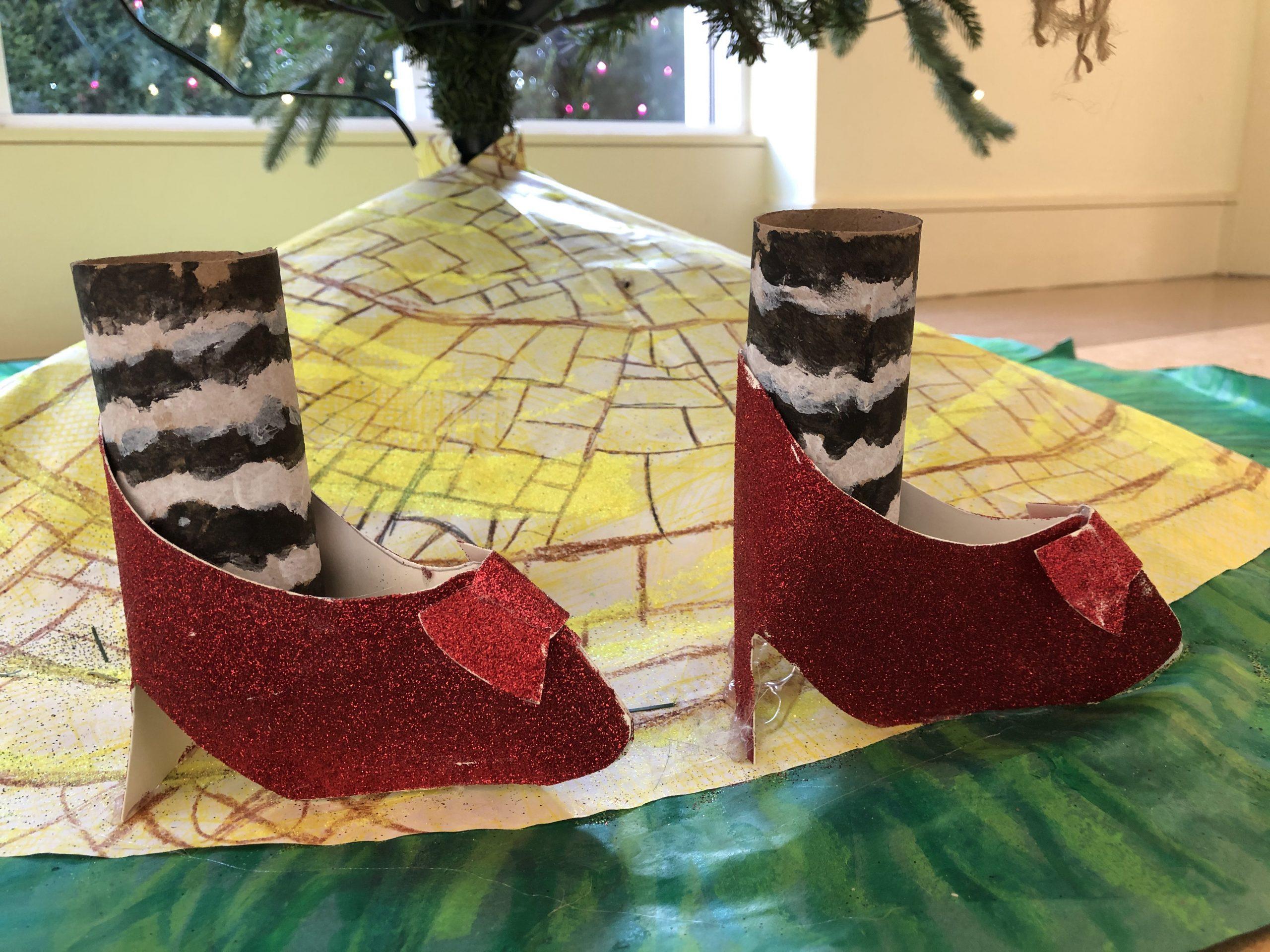 Fair Oaks Elementary Ruby Red Slippers