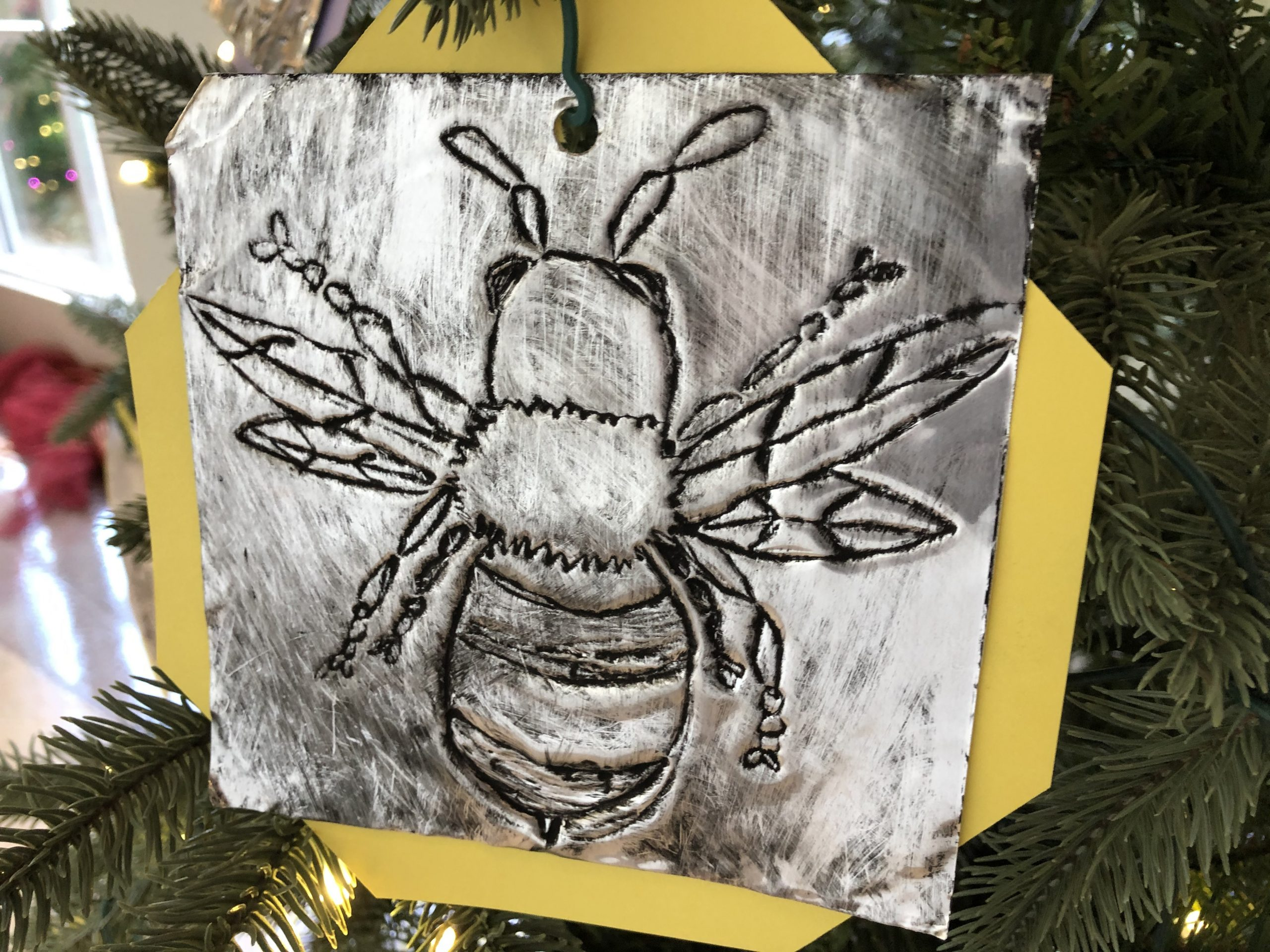 Jackson Davis bee holiday decoration