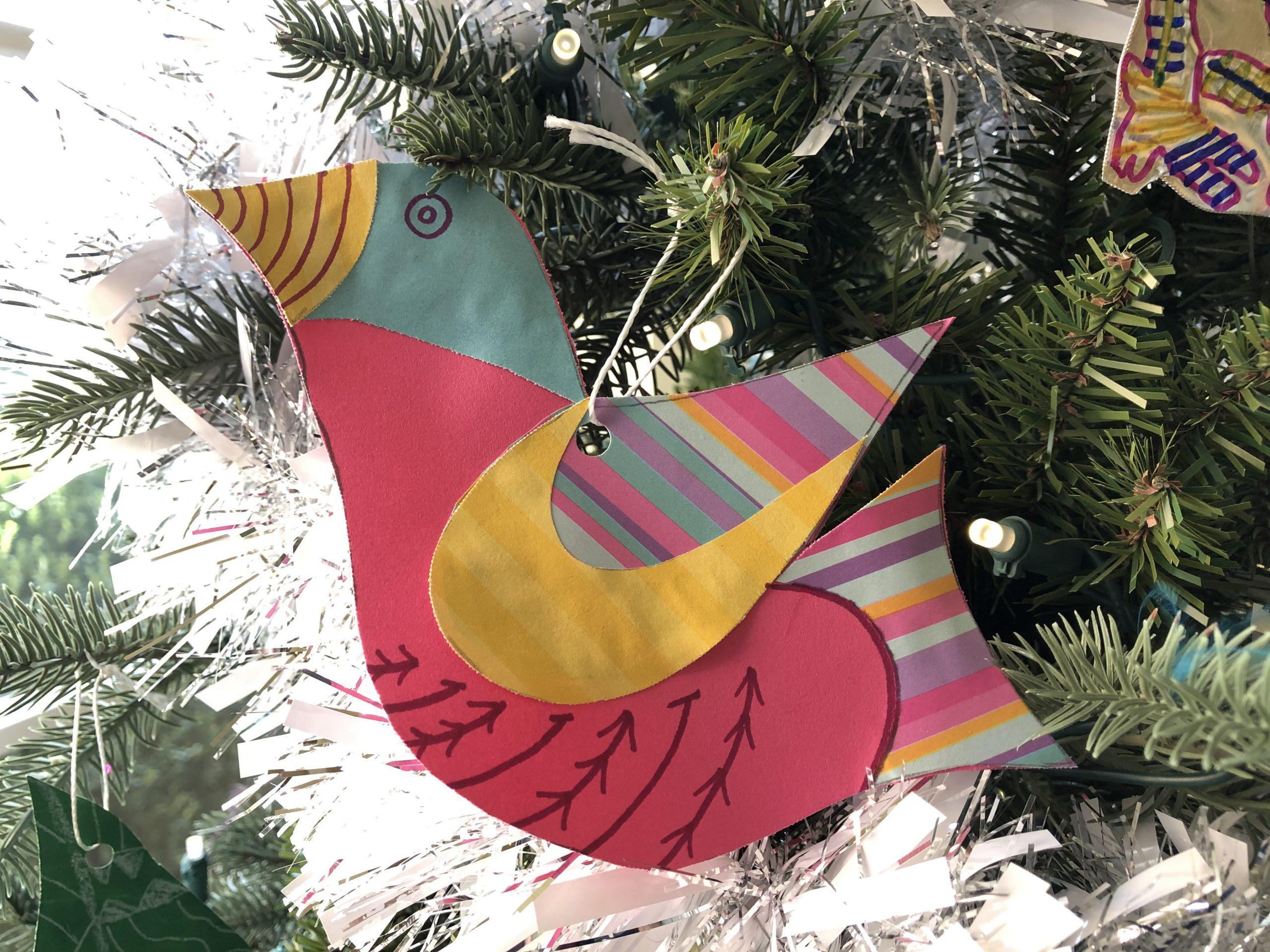 Montrose Elementary School bird decoration