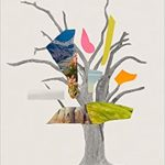 Book cover of Erosion by Terry Tempest Williams depicts a colorful collage of a tree in front of a white background