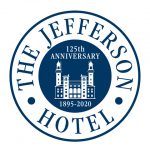 jefferson totel anniversary logo